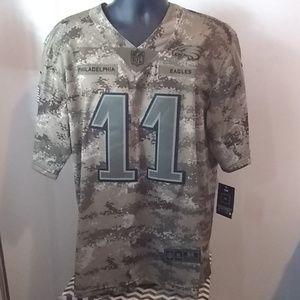 Philadelphia Eagles Wentz Salute to Service Jersey